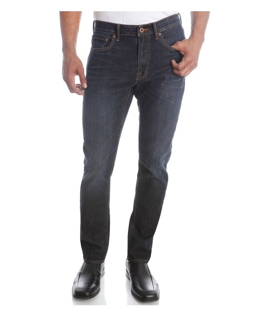 Lucky Brand - Gray 410 Athletic Fit Jeans for Men - Lyst