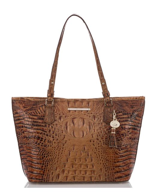 Brahmin - Brown Toasted Almond Collection Medium Asher Tote - Lyst