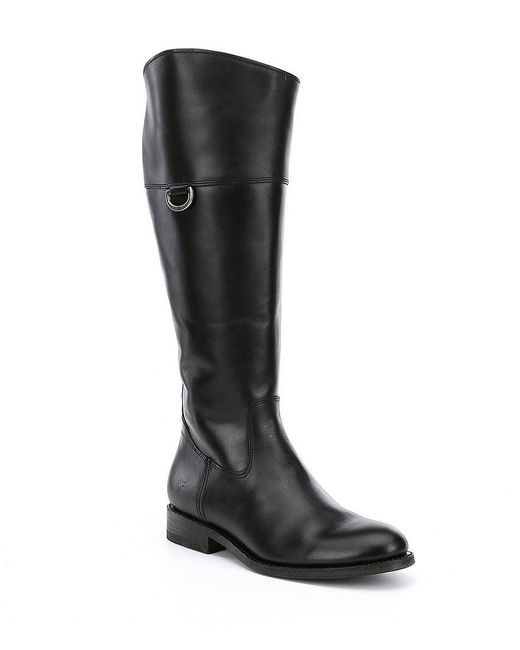Frye | Black Jayden D Ring Tall Boots | Lyst