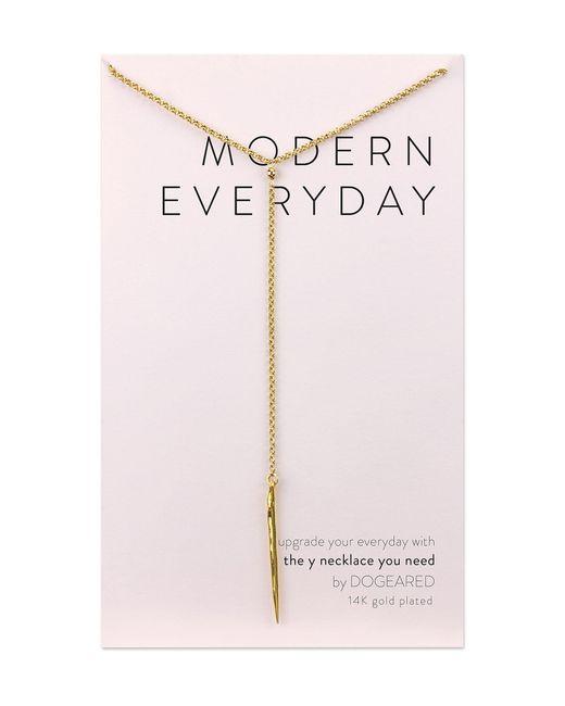 Dogeared - Metallic Modern Everyday Y-necklace - Lyst