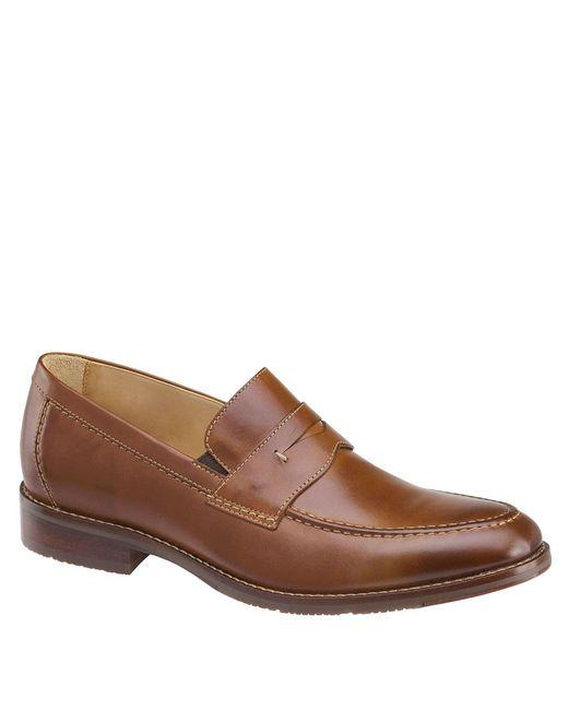 Johnston & Murphy Brown Johnston Murphy Men's Garner Penny Loafers for men