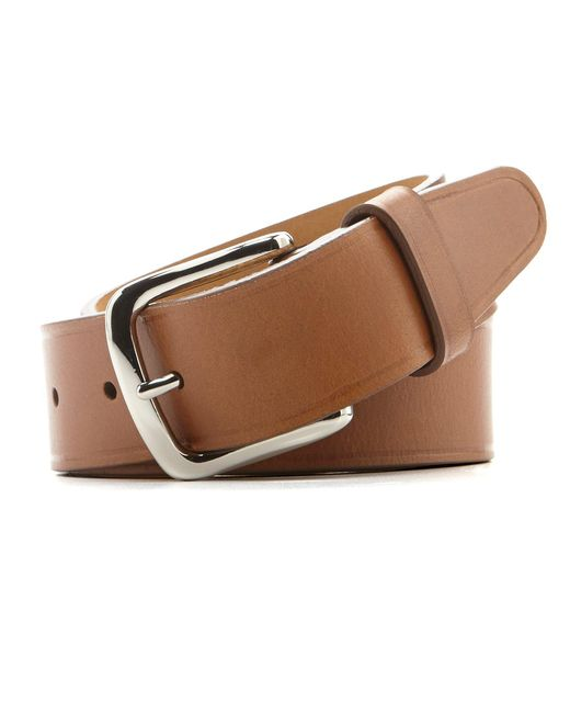 Cole Haan - Natural Buff Harness Leather Belt for Men - Lyst
