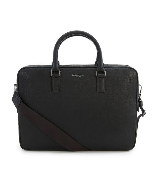 Michael Kors - Black Bryant Large Briefcase for Men - Lyst