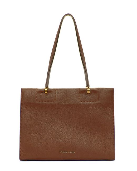 Etienne Aigner - Brown Colette Snap Tote - Lyst