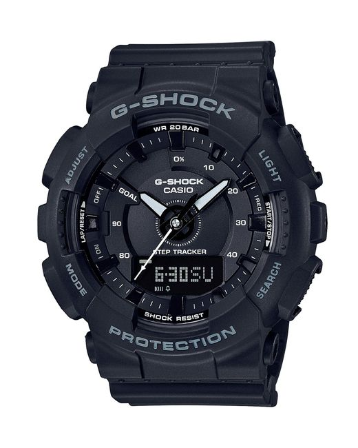 G-Shock - Ana-digi Watch Black Resin W/ Black Dial - Lyst