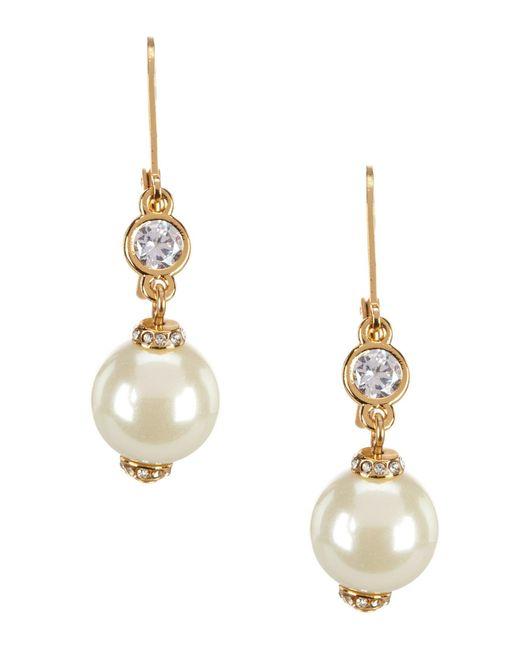Kate Spade - Multicolor Pearls Of Wisdom Drop Earrings - Lyst