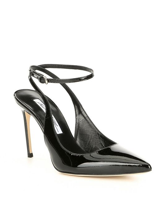 Brian Atwood - Black Vicky Patent Leather Dress Pumps - Lyst