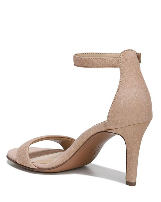 e1346a3ddbca ... Naturalizer - Multicolor Kinsley Suede Ankle Strap Dress Sandals - Lyst  ...