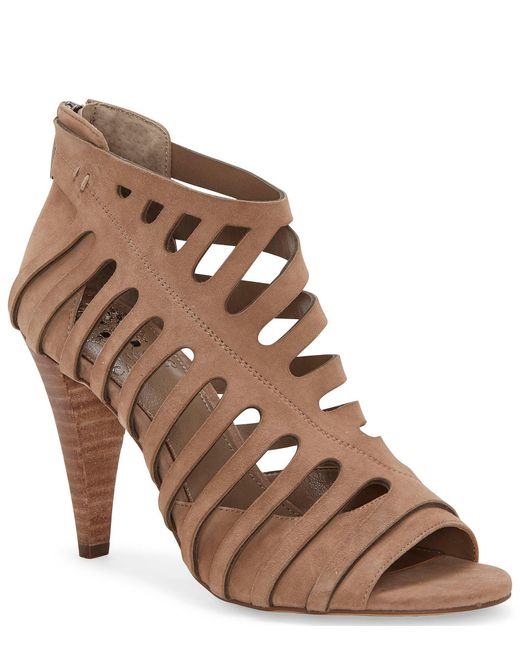 Vince Camuto Brown Amendia Bootie