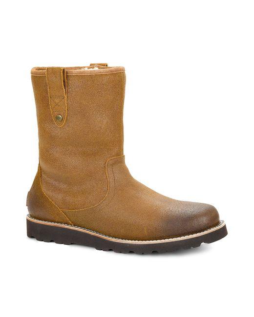 Ugg | Brown ® Men´s Stoneman Tl Cold-weather Waterproof Boots for Men | Lyst