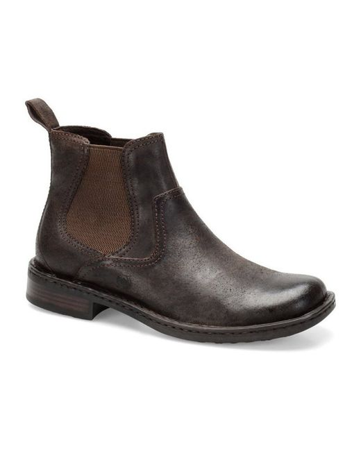 Born | Brown Hemlock Chelsea Boots for Men | Lyst