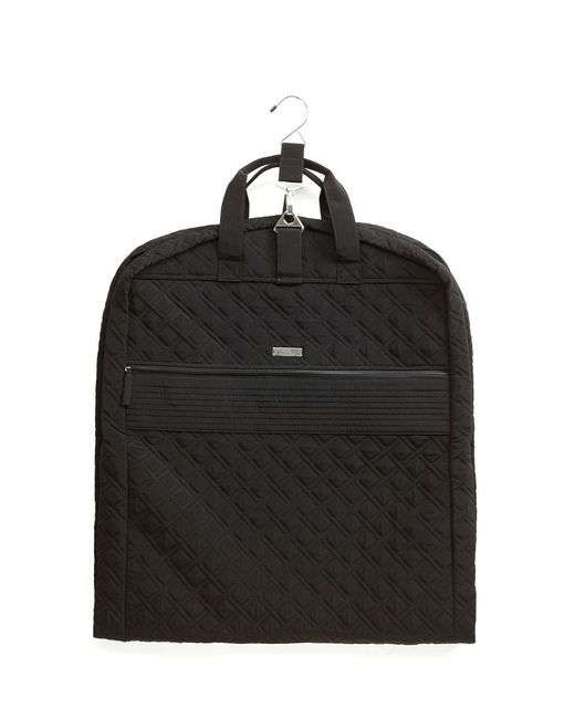 Vera Bradley Going Places Quilted Garment Bag In Black