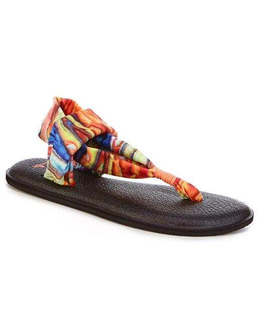 Sanuk Yoga Sling 2 Sandal In Red Save 37 Lyst
