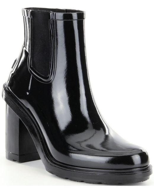 Hunter | Black Women´s Original Refined High Heel Chelsea Boots | Lyst