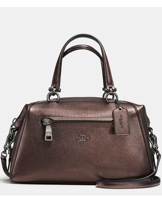 COACH | Brown Stanton Carryall 26 In Crossgrain Leather | Lyst