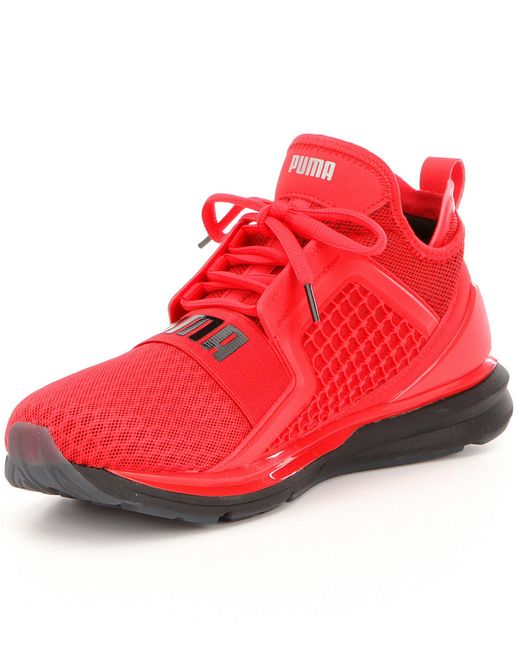 Puma Men ́s Limitless Mesh Lace Up Athletic Sneakers In
