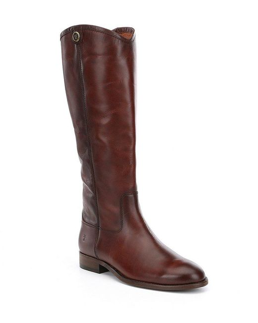 Frye - Brown Melissa Button 2 Tall Boots - Lyst