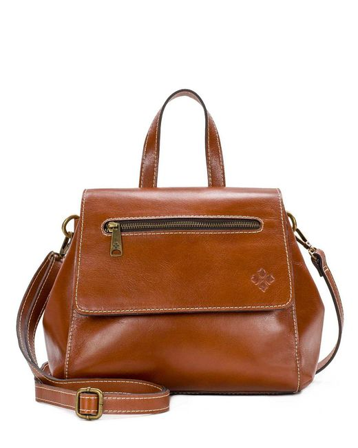 Patricia Nash - Brown Veg Tan Collection Molina Convertible Satchel - Lyst