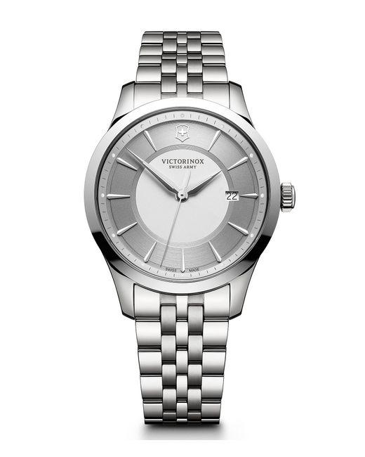 Victorinox - Metallic Alliance Stainless Steel Bracelet Watch for Men - Lyst