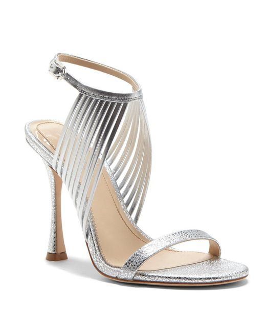 Vince Camuto - Imagine Raim2 Metallic Strappy Dress Sandals - Lyst