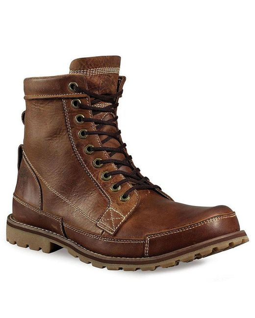 Timberland - Brown Earthkeeper Waterproof Leather Boots for Men - Lyst