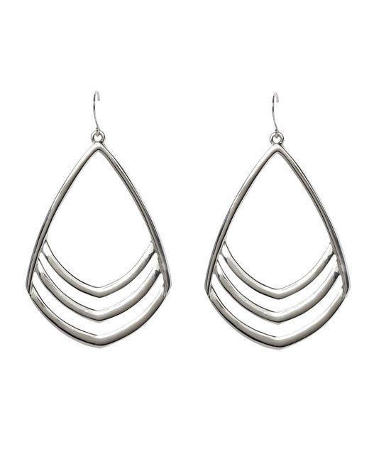 Vince Camuto - Metallic Frontal Drop Earrings - Lyst