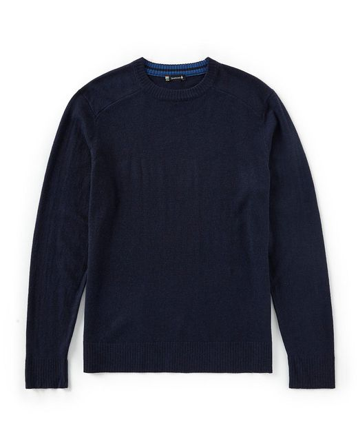 Smartwool - Blue Sparwood Solid Crew Sweater for Men - Lyst