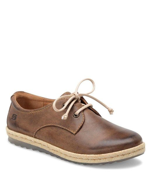 Born | Brown Lusaka Lace-up Leather Oxfords for Men | Lyst