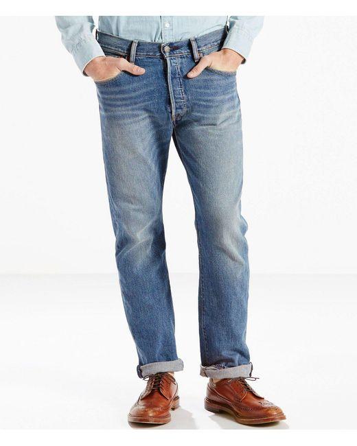 Levi's - Blue ® Big & Tall 501 Stretch Original Fit Jeans for Men - Lyst