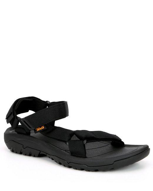 Teva Black Men's Hurricane Xlt2 Slip On Sandals for men