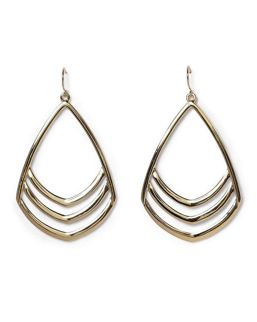 Vince Camuto | Metallic Frontal Drop Earrings | Lyst