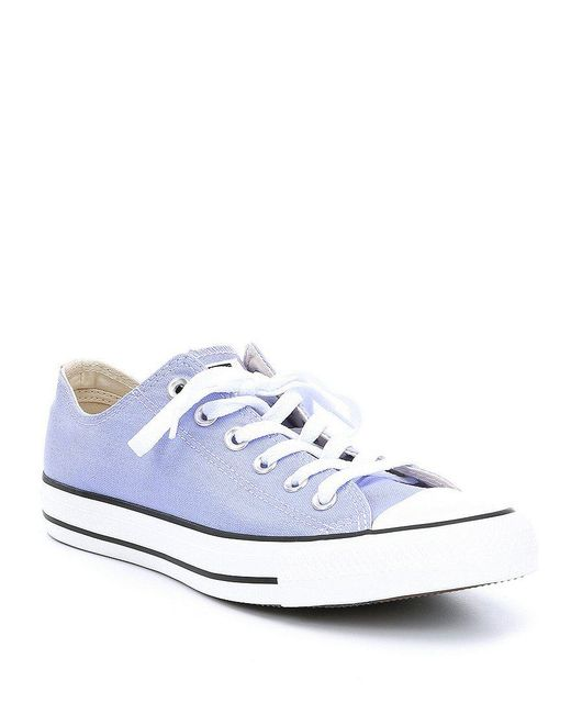 Converse - Blue Unisex Chuck Taylor All Star Sneakers - Lyst