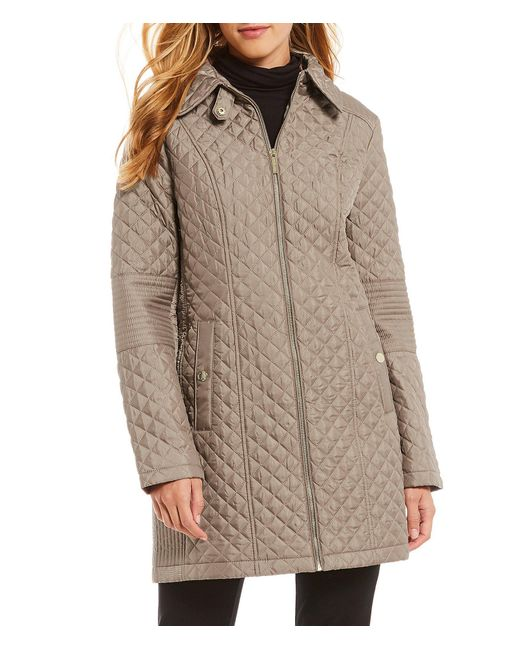 Michael Kors - Multicolor Michael Quilted Jacket - Lyst