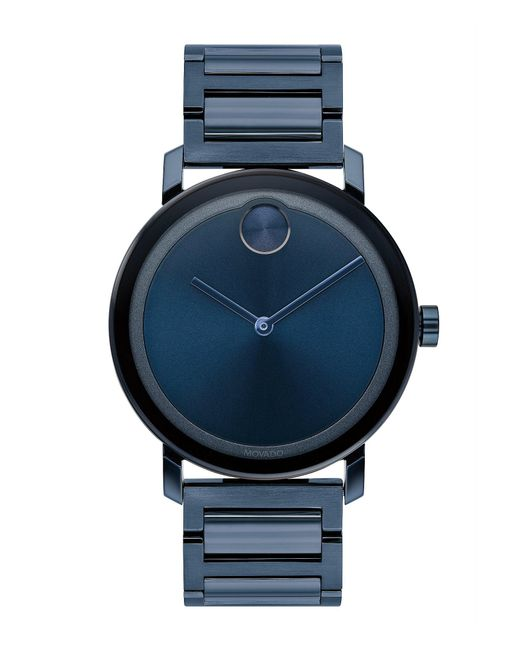 Movado Bold - Blue 40mm for Men - Lyst