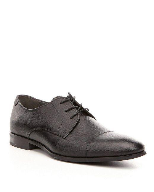 ALDO | Black Men ́s Badolla Derby Lace-up Leather Oxfords for Men | Lyst