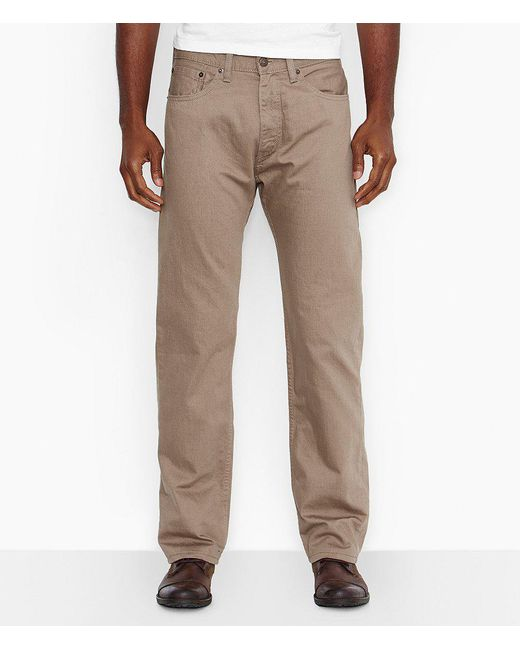 Levi's | Natural ® 505tm Straight-fit Jeans for Men | Lyst