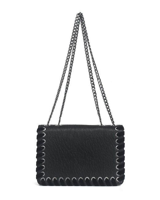 Jessica Simpson   Black Zamia Velvet Whip-stitched Convertible Cross-body Bag   Lyst