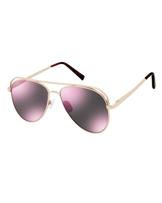Vince Camuto - Metallic Satellite Aviator Sunglasses - Lyst