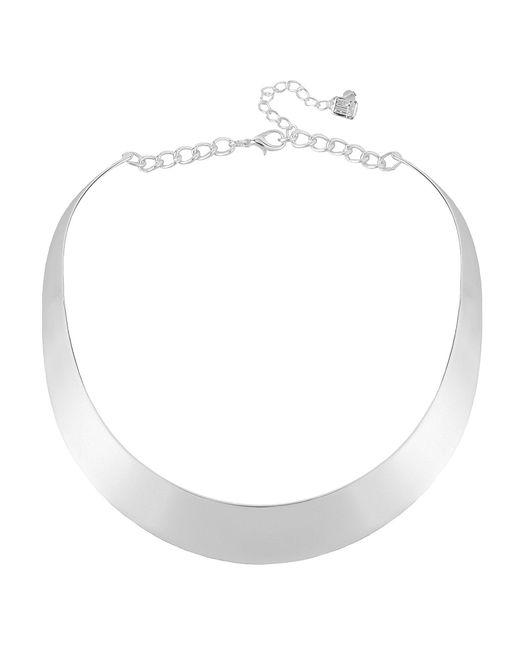 Robert Lee Morris - Metallic Half Moon Choker Collar Necklace - Lyst