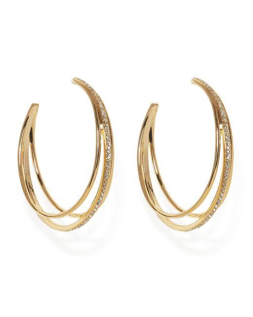 Vince Camuto - Metallic Peekboo Hoop Earrings - Lyst