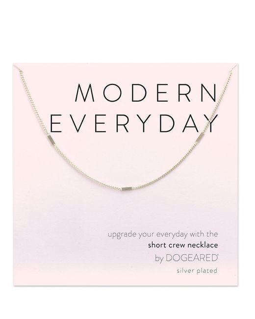 Dogeared - Metallic Modern Everyday Multi Bar Chain Necklace - Lyst