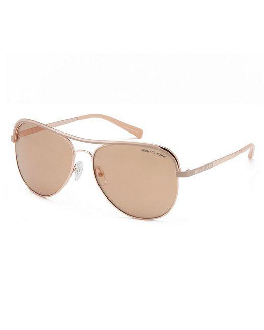 Michael Kors   Multicolor Vivianna I Mirrored Aviator Sunglasses   Lyst