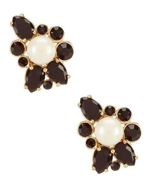Kate Spade - Metallic Flying Colors Pearl Cluster Stud Earrings - Lyst