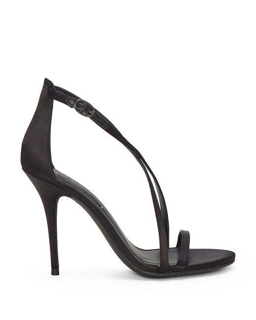 Aisha Strappy Satin Dress Sandals 9muC39ljMB