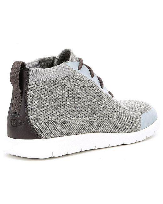Ugg 174 Men S Freamon Hyperweave Chukka Boots In Gray For