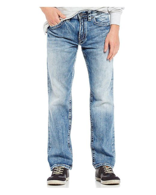 Silver Jeans Co. - Blue Eddie Relaxed Tapered-fit Jeans for Men - Lyst