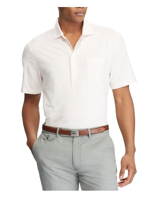 Polo Ralph Lauren - Blue Polo Golf Classic-fit Stripe Stretch Jersey Short-sleeve Polo Shirt for Men - Lyst