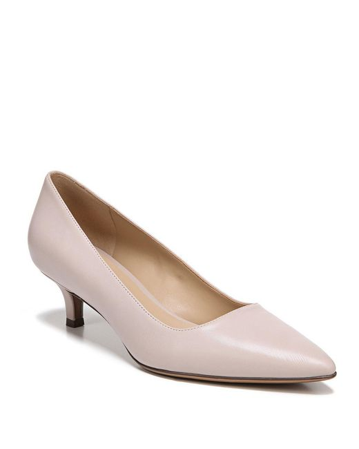 Naturalizer - Gray Pippa Leather Pumps - Lyst