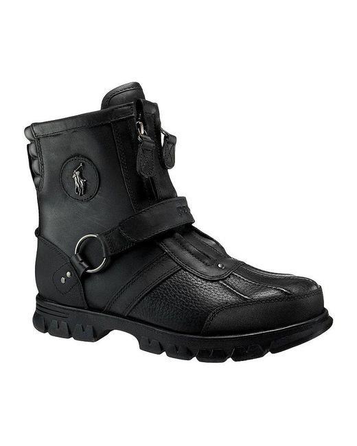 Polo Ralph Lauren   Brown Conquest Iii Men ́s Rugged Boots for Men   Lyst