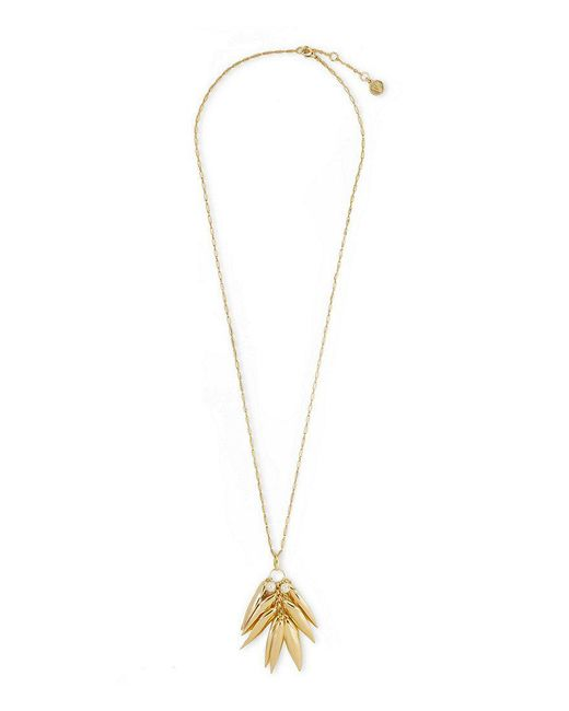 Vince Camuto - Metallic Cluster Pendant Necklace - Lyst
